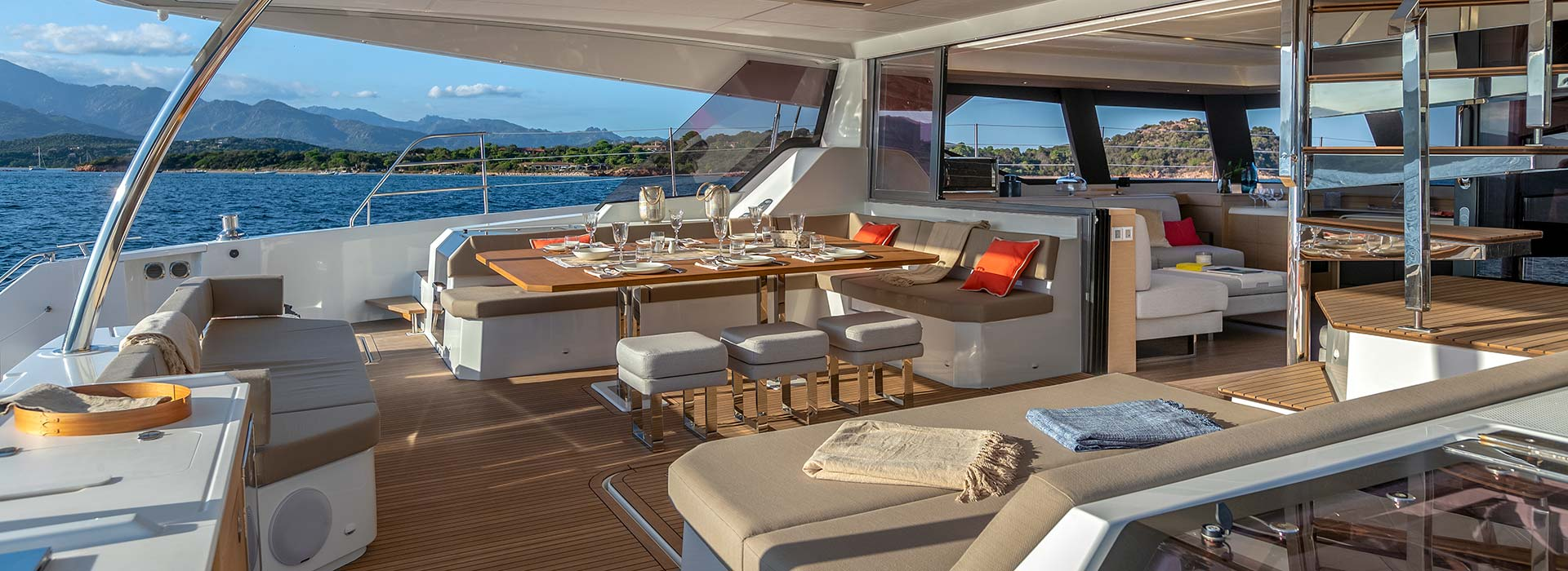 fully crewed yacht which allows you to relax
