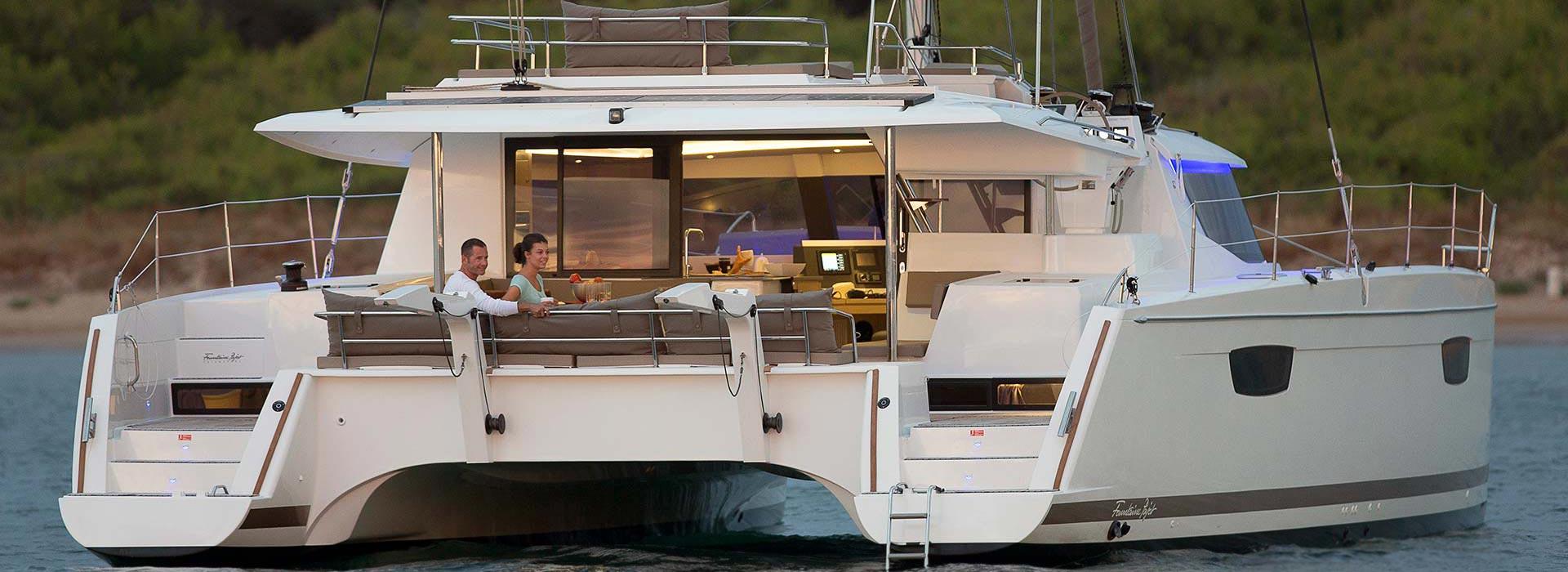 inside a luxury yacht