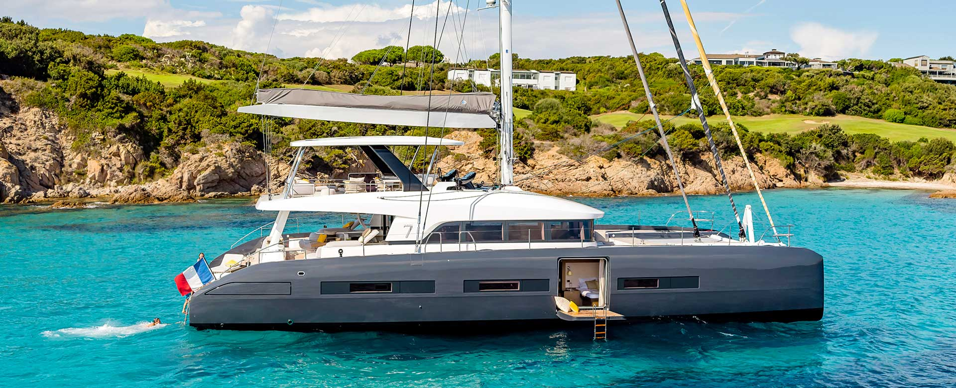 Aletheia is a TW70 luxury yacht